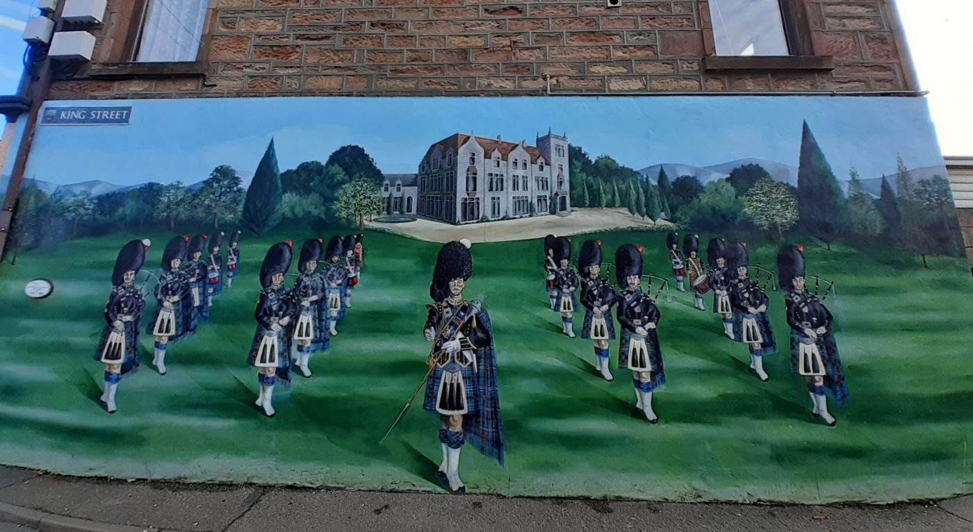 Invergordon Murals - Tours from Invergordon Cruise Port