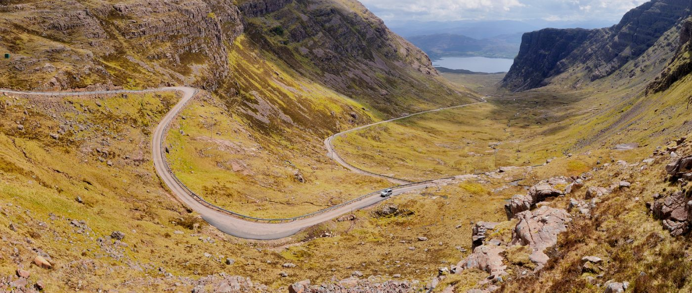 Bealach Road - North Coast 500 Tours from Inverness