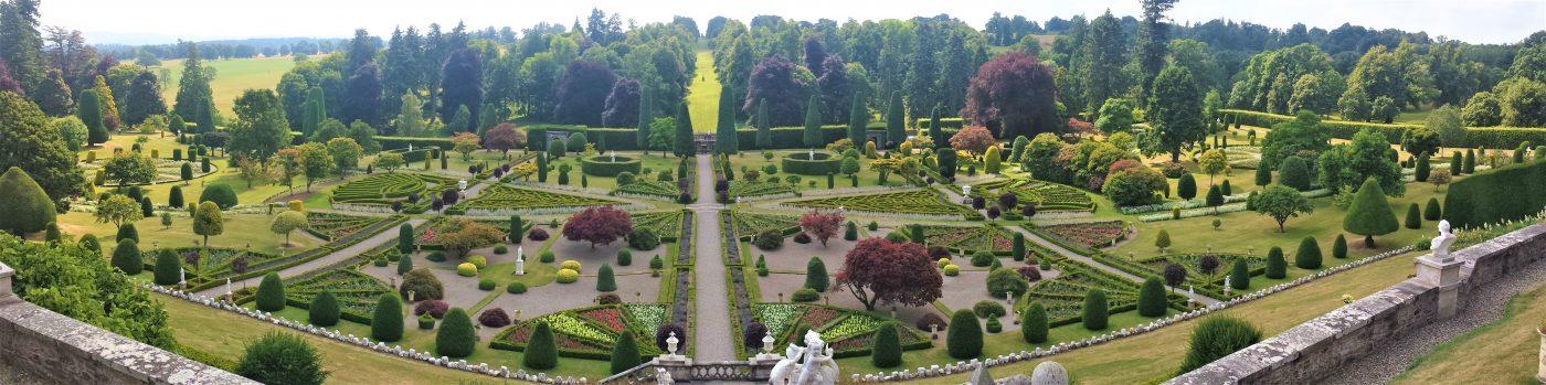 Drummond Castle Gardens - Greenock Cruise Ship Tours