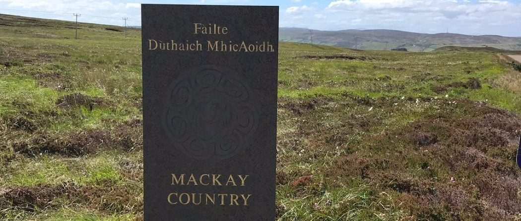 Mackay Country Stone - Scottish Clan Tours from Inverness