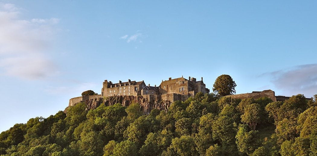 Stirling Castle Distant - Greenock Cruise Ship Tours